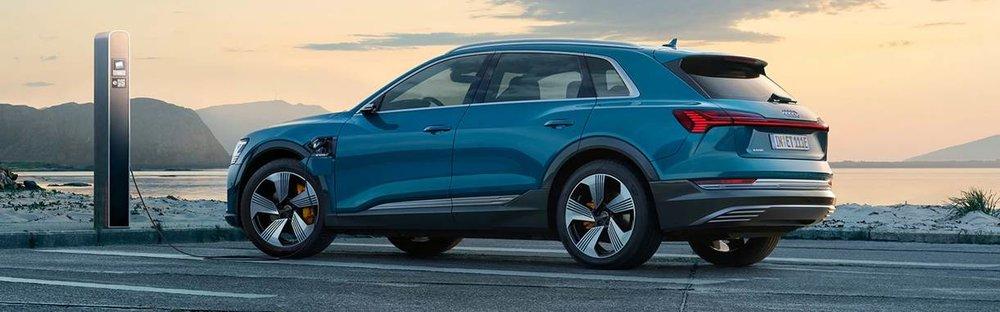 Audi e-tron er en av de mange nye bilene som blir å finne i Møller Bil Asker og Bærums kataloger i 2019.