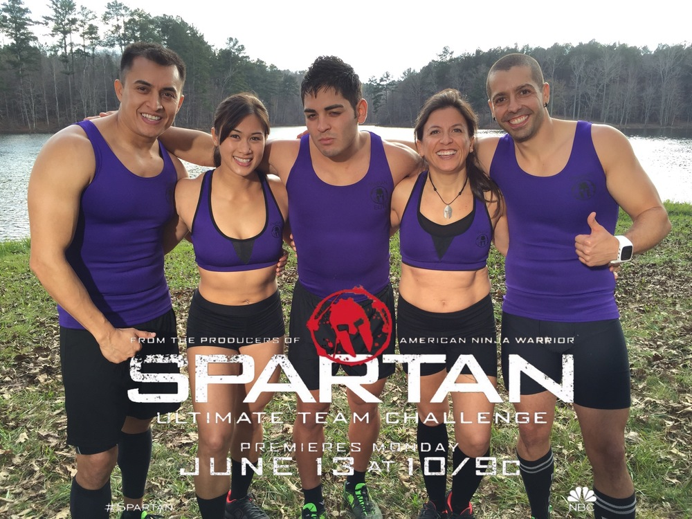 Watch me and my team compete on Spartan Ultimate Challenge! It promises to be an AMAZING show!