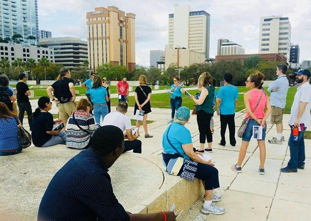 We like to wander at World IA Day Tampa Bay! This photo is from our WIAD 2018 walking tour, exploring stories of Tampa past and present. Join us to wander the IA exhibition we have lined up for #WIAD19! Have you registered? wiadtampa.org/register  #FBF