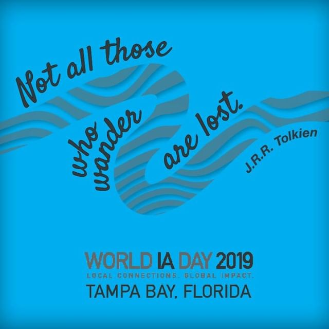 Last call! Advance registration to World IA Day Tampa Bay closes 2/20. We are so excited and hope you'll join us for a keynote by Peter Morville and an interactive IA exhibition. View the full event program & register at wiadtampa.org #WIAD19