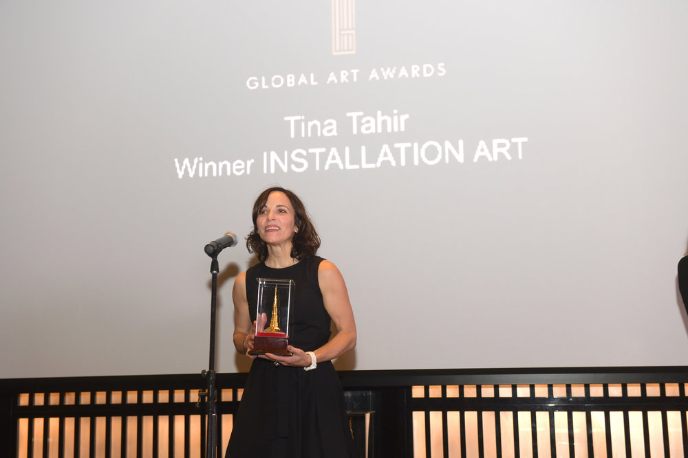 INSTALLATION ART AWARD   TINA TAHIR (GERMANY)