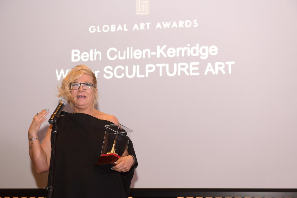 SCULPTURE ART AWARD   BETH CULLEN-KERRIDGE (UNITED KINDOM)