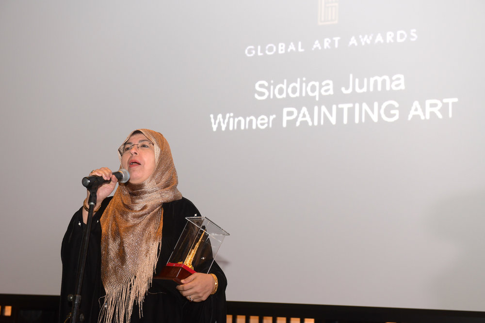 PAINTING ART AWARD   SIDDIQA JUMA (AFRICA)