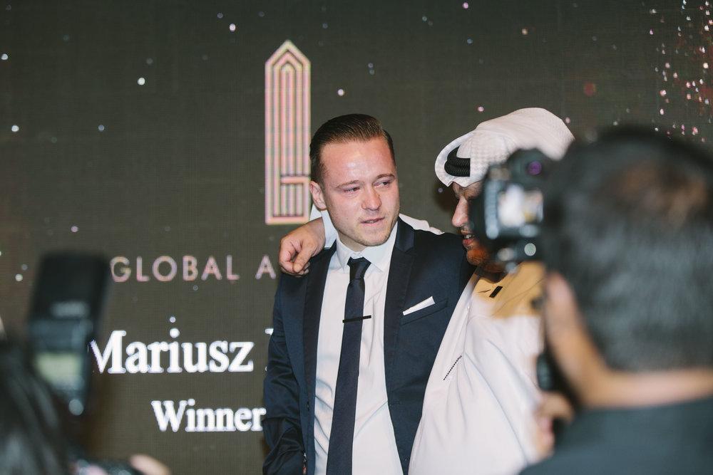 ALL ROUND WINNER: Mariusz Kędzierski