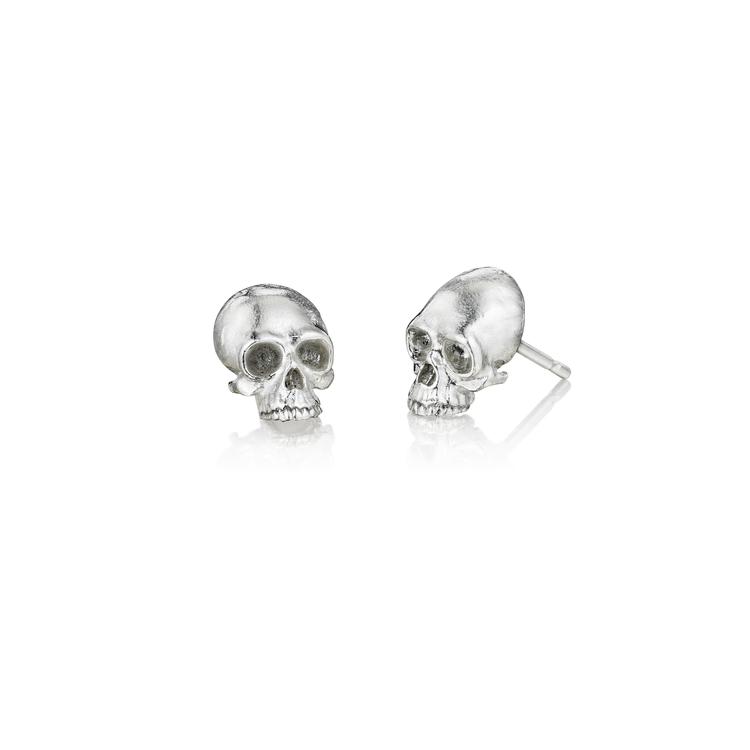 jewellers skull links stud of francis image mini london rose gaye gold plated earrings