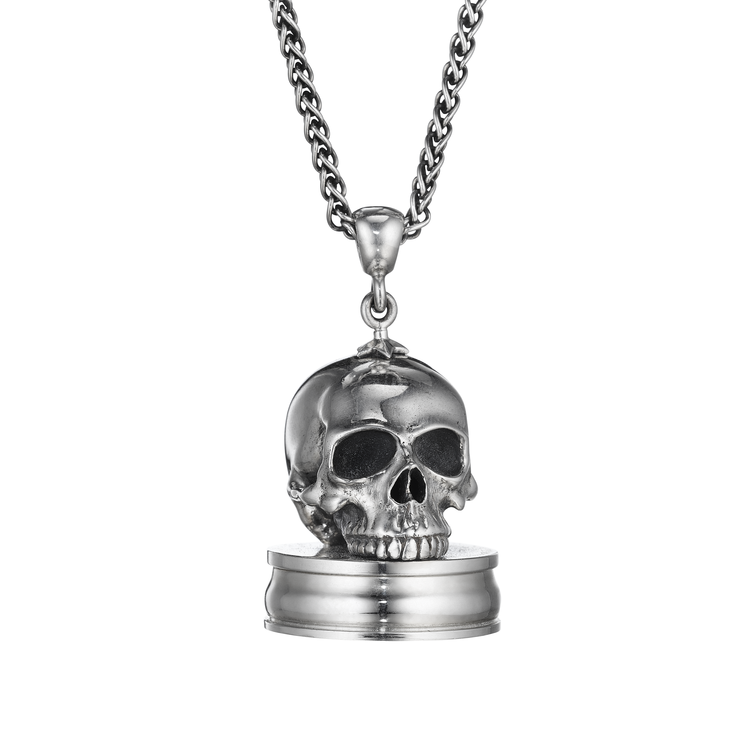 Skull pocket watch pendant anthony lent skull pocket watch pendant aloadofball Image collections