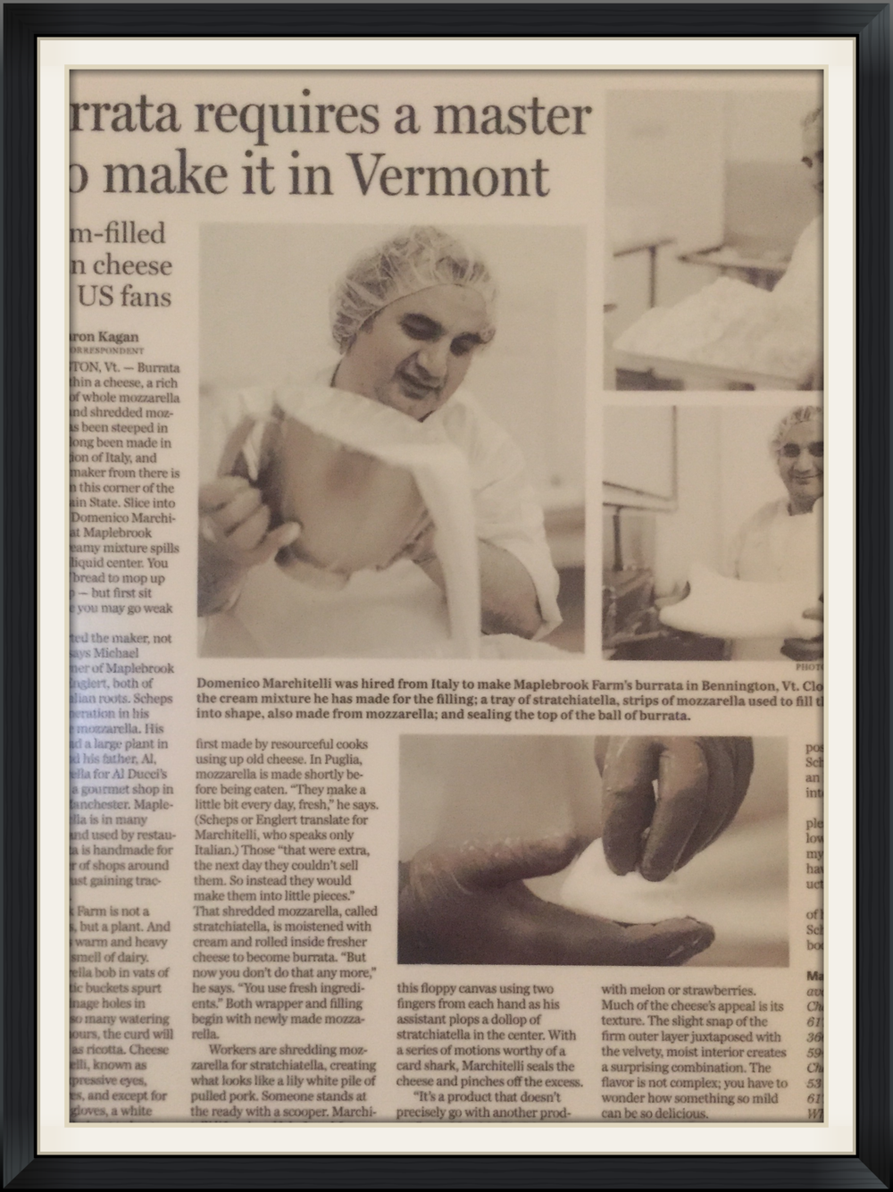The Boston Globe March 29th, 2006