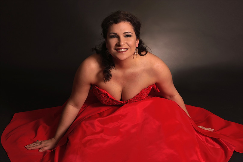 Soprano Danielle Pastin, radiant as always.  She lights up our HAPPY AMPER SPOTLIGHT!