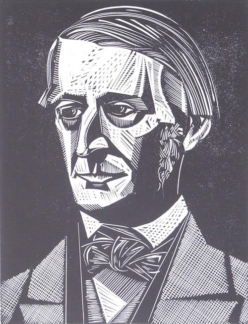 Ralph Waldo Emerson by Danielle Cromwellie