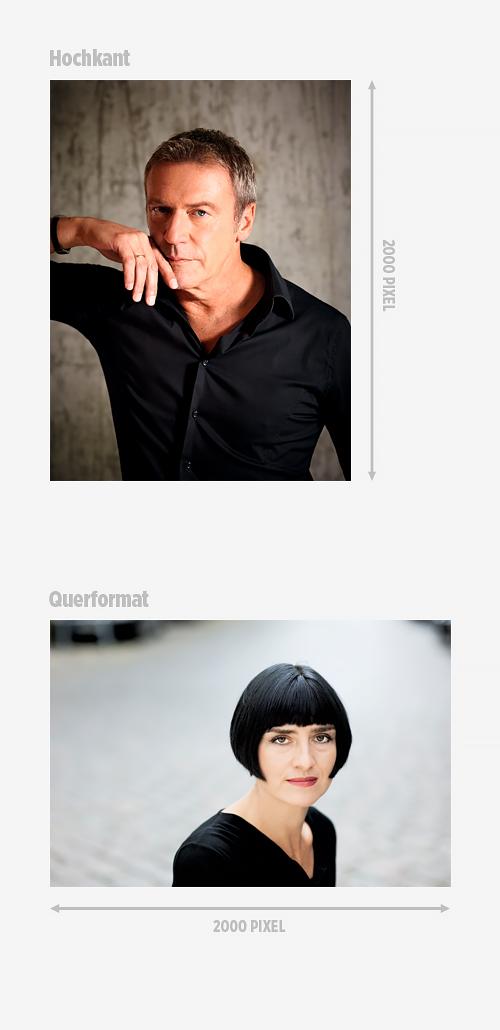 Foto von Arno Strobel: Gaby Gerster Foto von Monika Zeiner: Milena Schlösser