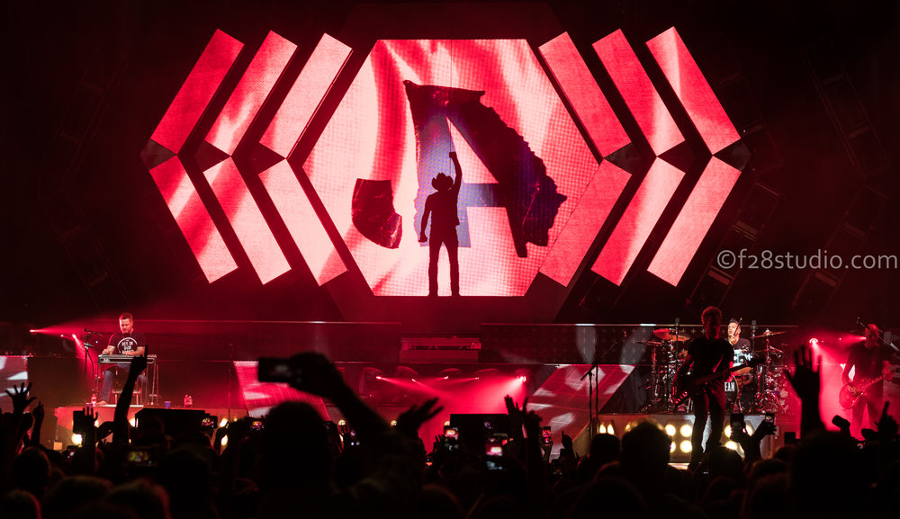 This photograph was taken during his show in North Carolina.