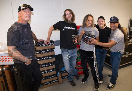 Photo: Metallica and Arrogant Consortia