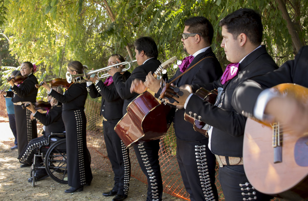 A mariachi band played during the Silicon Valley NAMI Walk  on   Saturday, September 17.