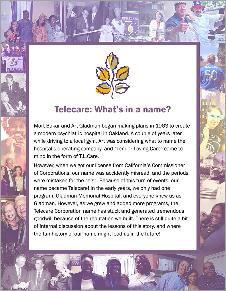 Telecare's Name