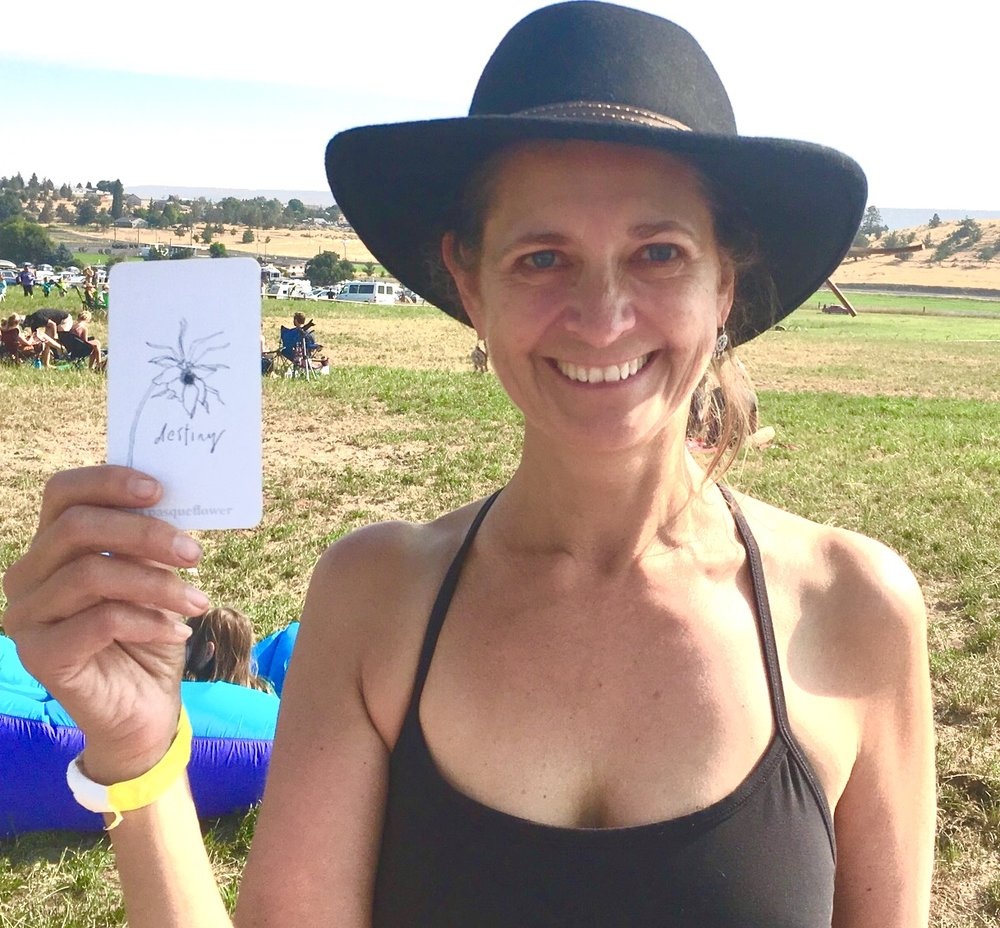 Shannon mong, Director of Innovation Initiatives, found destiny at the solar exclipse in 2017. A few months later, Telecare began piloting a gratitude program based on these cards.