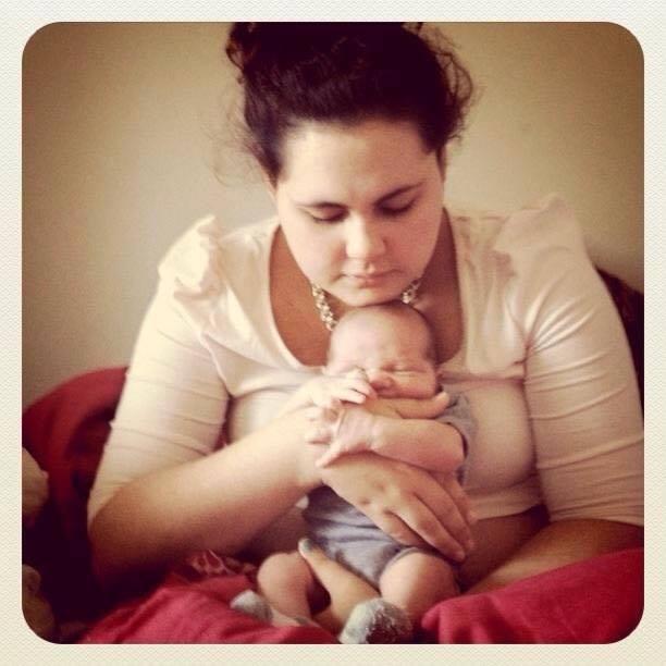 #PostpartumConfession   My Story: Eilish Lapp #mastitis #breastfeeding #PPD