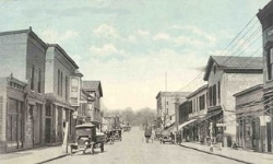Market Street looking North, Waverly, Ohio 1915