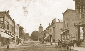 Emmitt Street, Waverly c. 1910