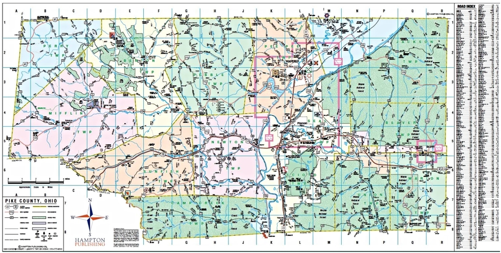 County Maps Pike County Chamber Of Commerce