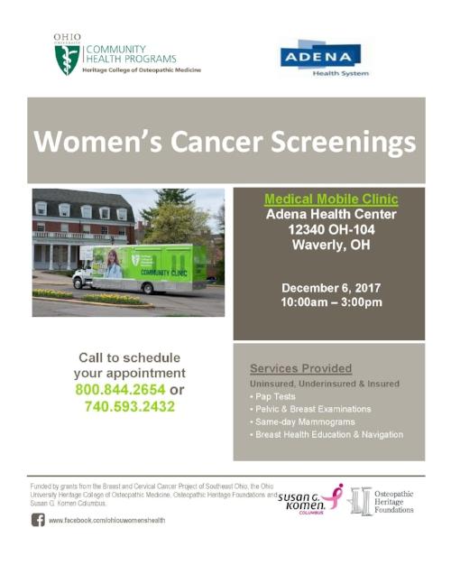 Cancer screening B&C  Pike Co..jpg