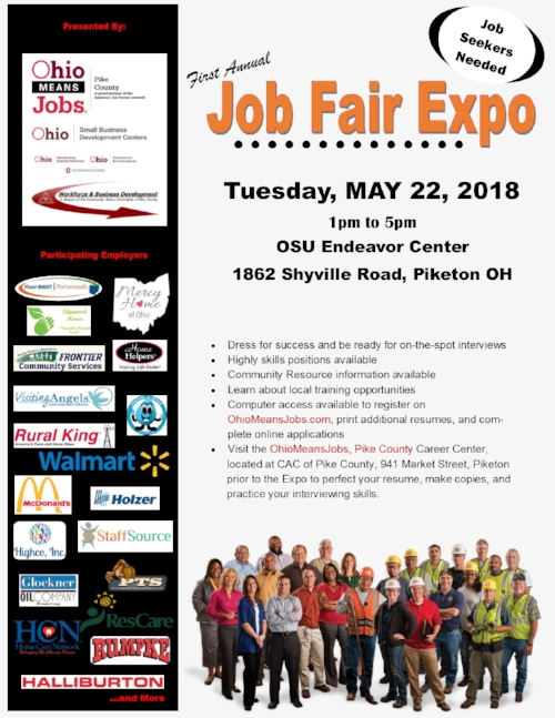 Job Fair Expo — Pike County Chamber of Commerce