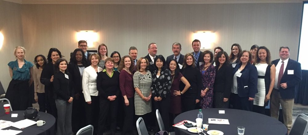 Most of the attendees of ASRM's first ever Advocacy Academy. Photo taken by Suzan Henderson, @suzanhenderson.