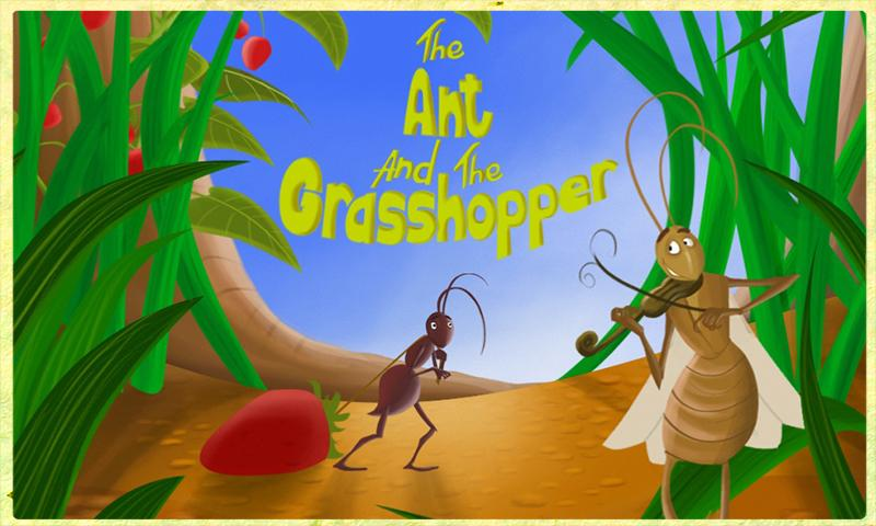 In one of Aesop's fables, the ant toils all summer to be prepared for the winter, while the grasshopper does nothing to prepare for leaner times