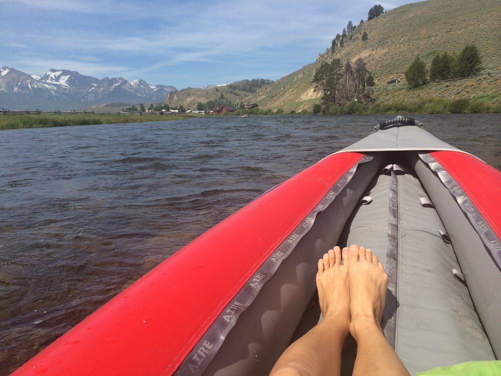 Kayaking in Sun Valley