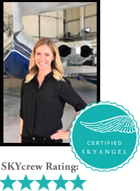 Virginia, Corporate Flight Attendant