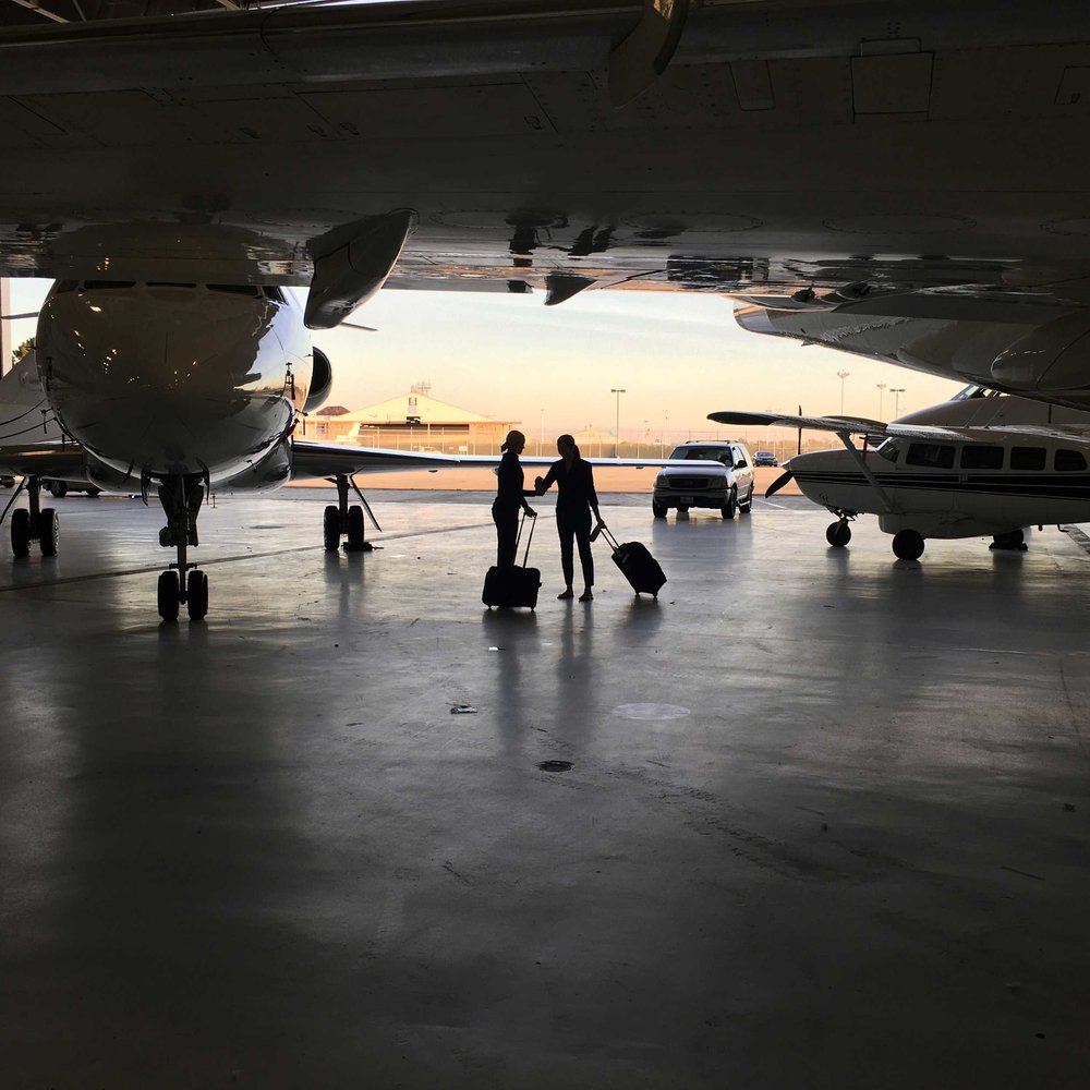 Hire a Certified SkyAngel for Your Next Flight -