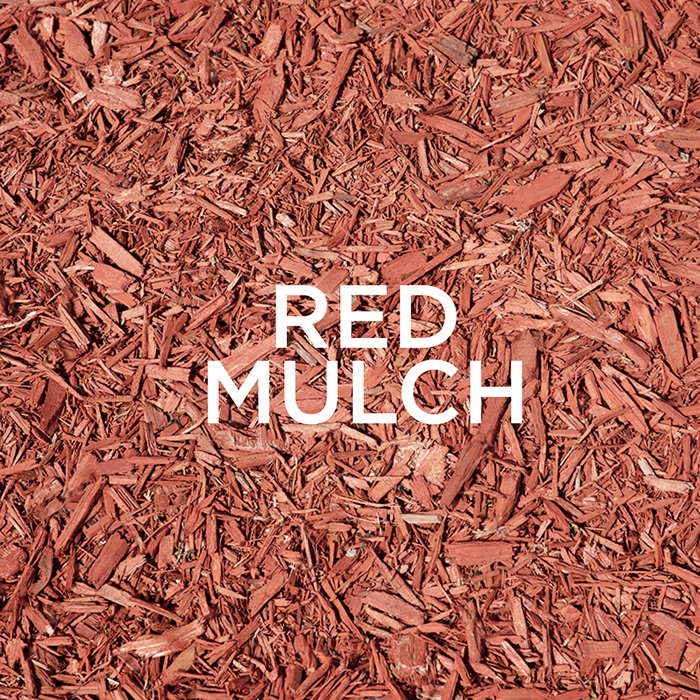 PA Mulch red, mulch, order online, scoop, delivery