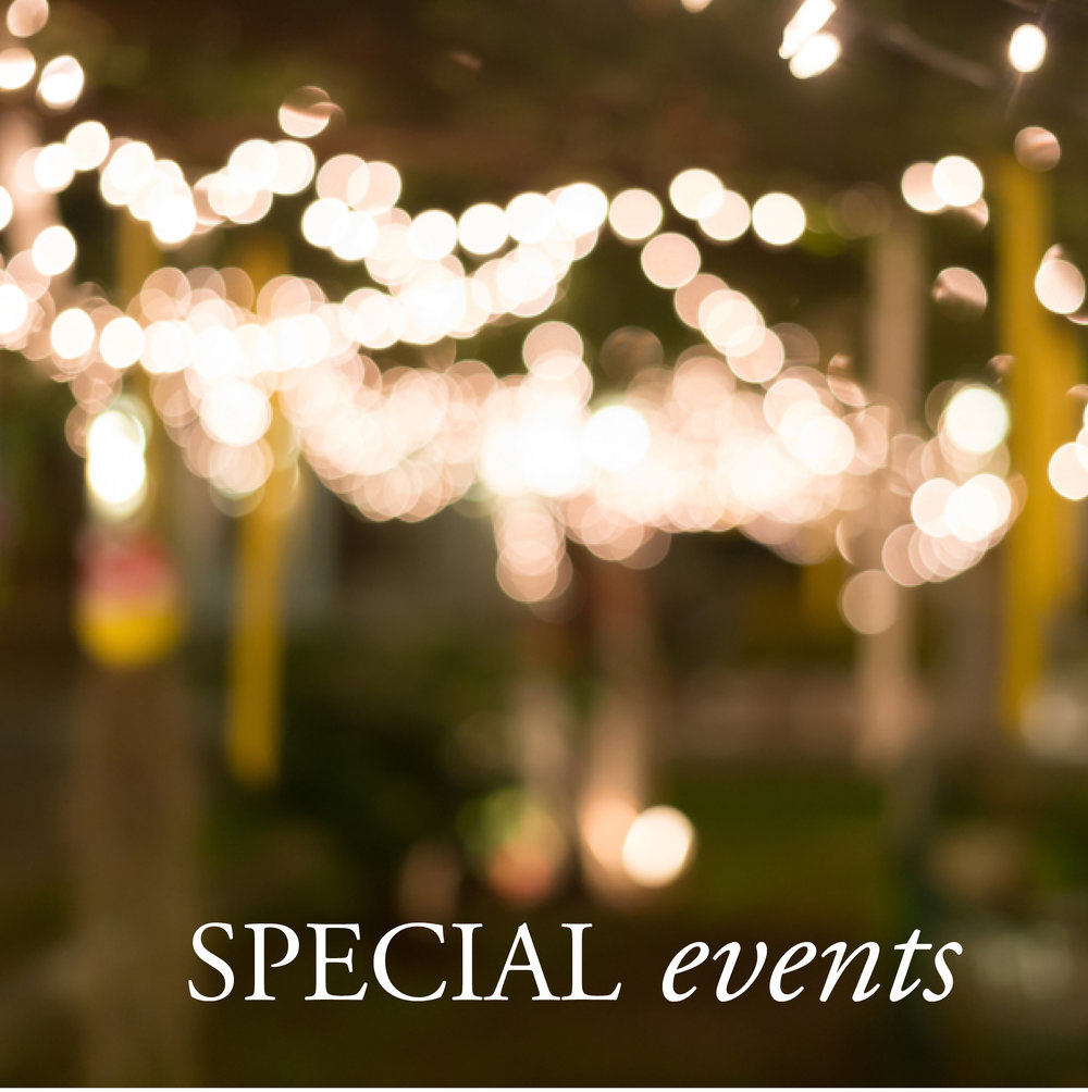 Dundee Gardens Special Events