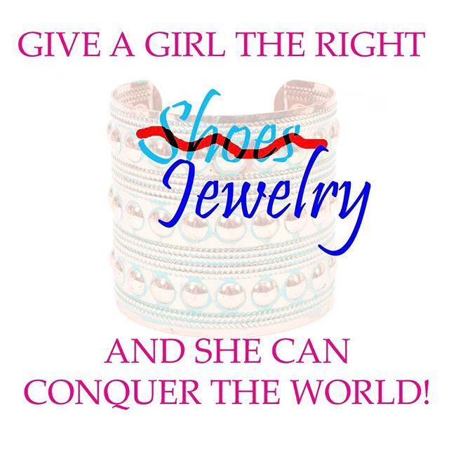 Women Wednesday- #womenwednesday #conquer #today #giveagirltherightjewelry #wednessdaywisdom