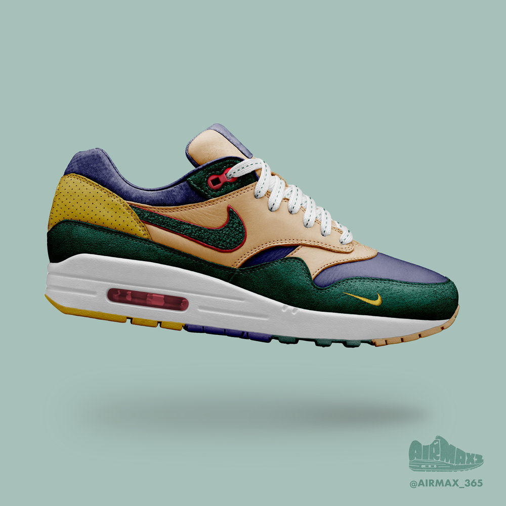 Day 329: Air Max 1 Boarding School