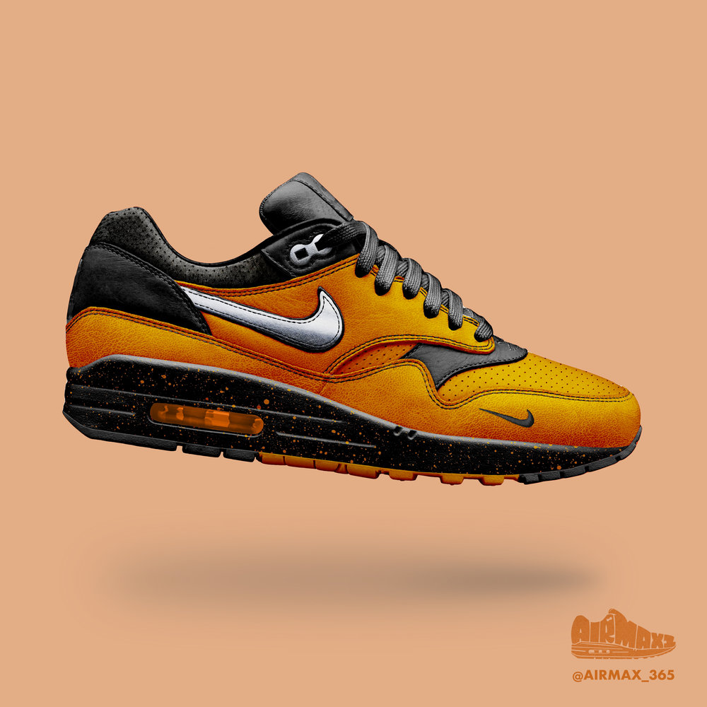 Day 322: Air Max 1 Racer Orange