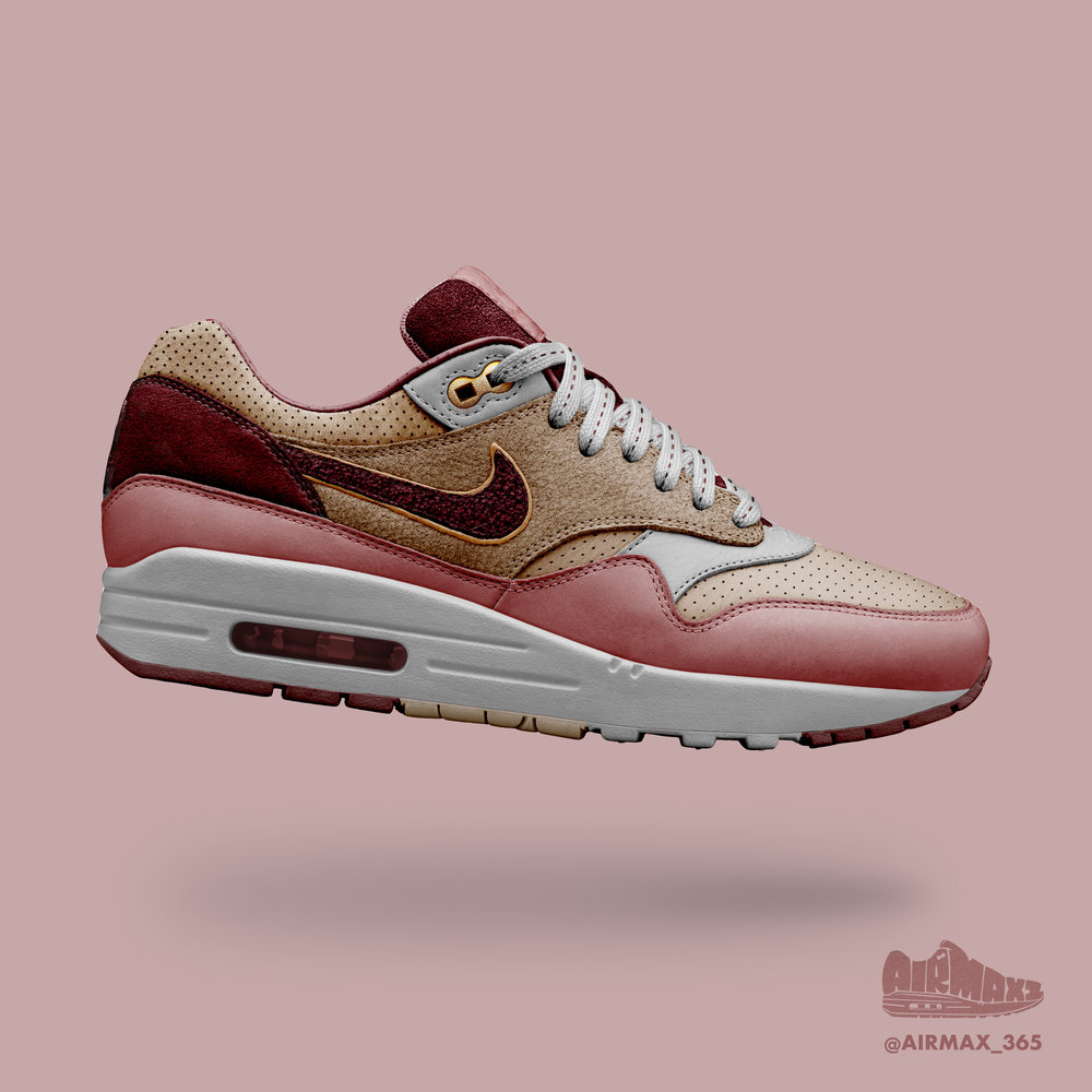 Day 317: Air Max 1 Mauve Stone