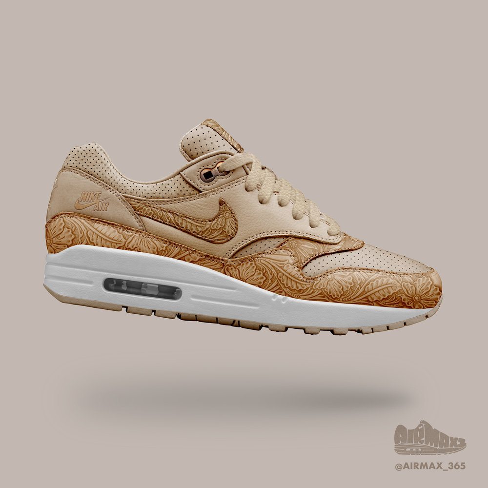 Day 313: Air Max 1 Leather Work
