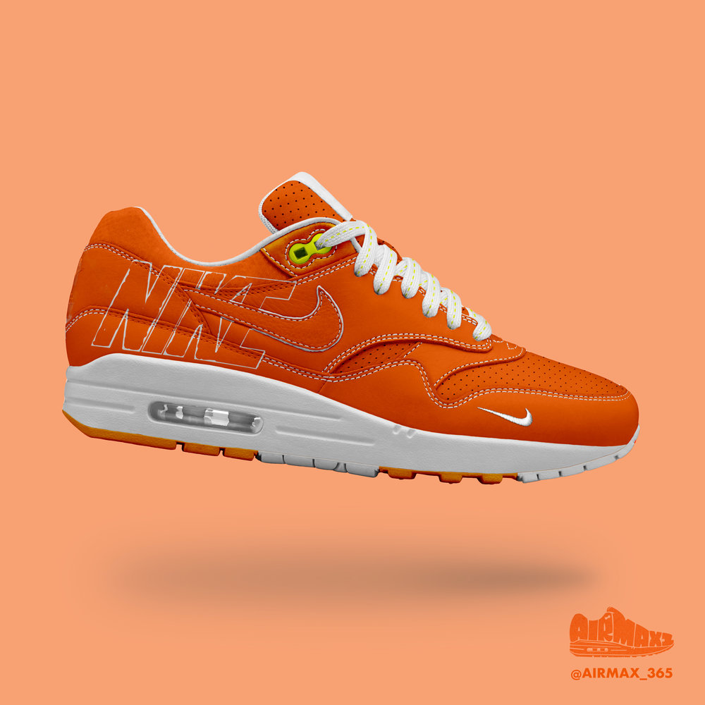 Day 311: Air Max 1 Orange Rush