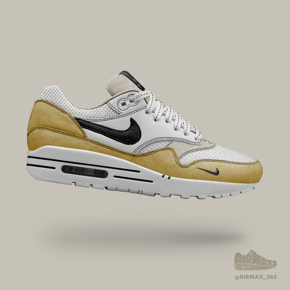 Day 306: Air Max 1 Natural Suede