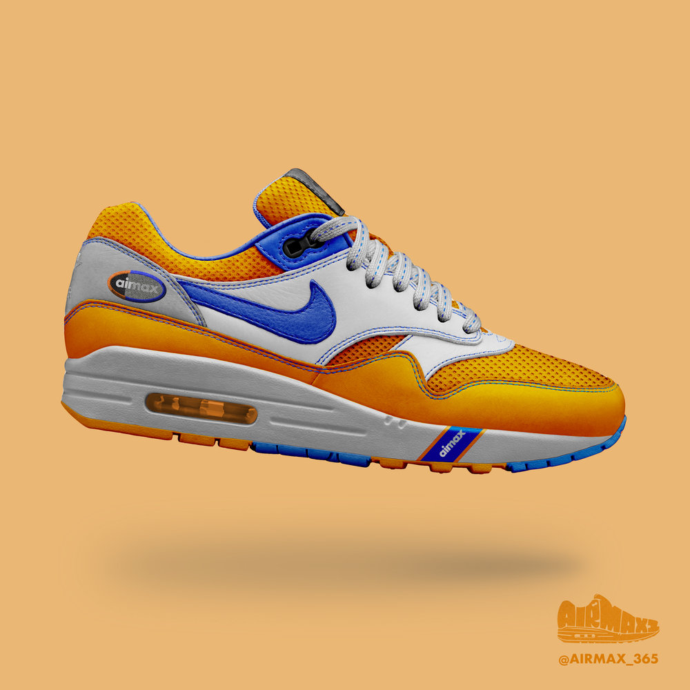 Day 298: Air Max 1 Tangerine Crush