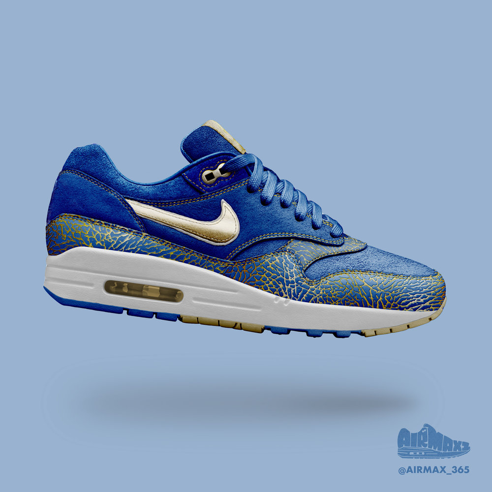 Day 299: Air Max 1 Royal Elephant