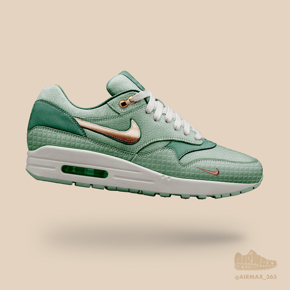 Day 297: Air Max 1 Lady Liberty