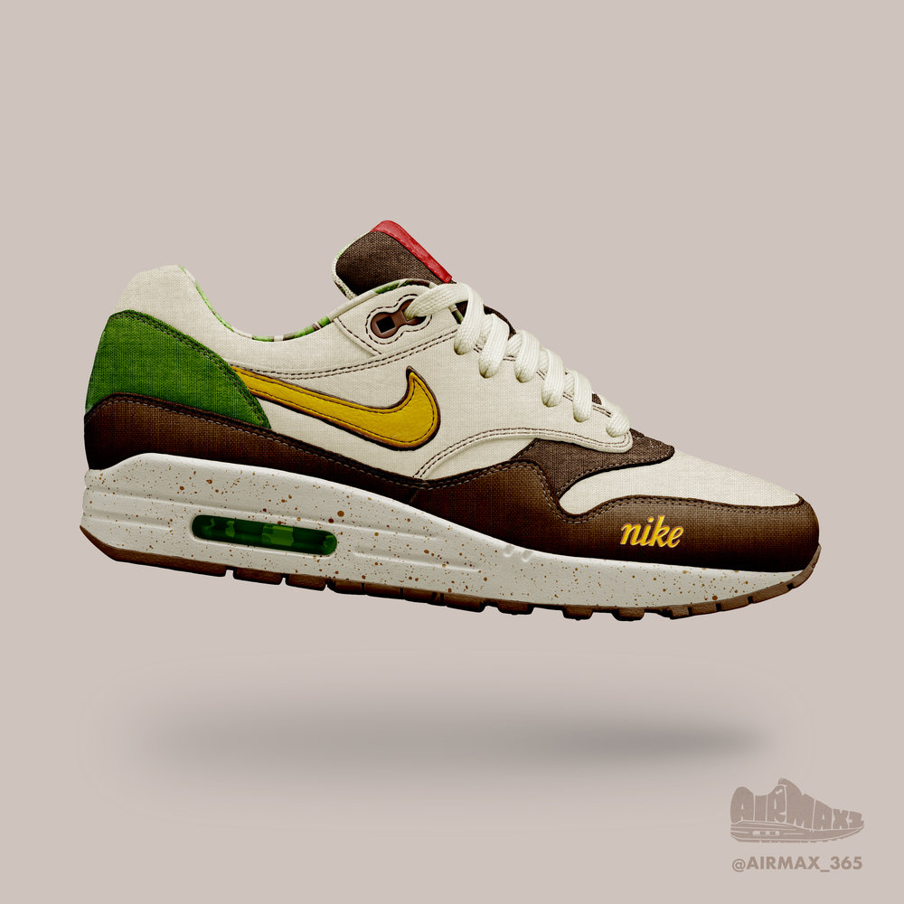 Day 293: Air Max 1 Aloha