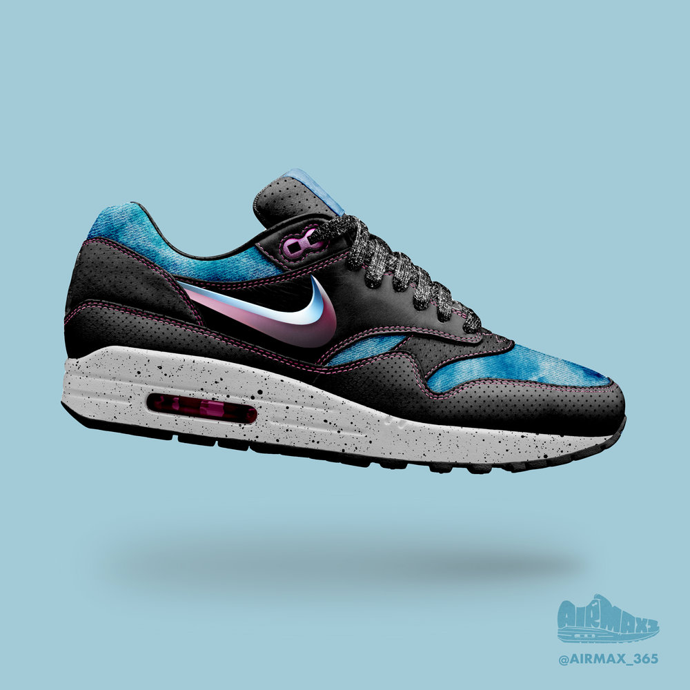 Day 292: Air Max 1 Hair Metal