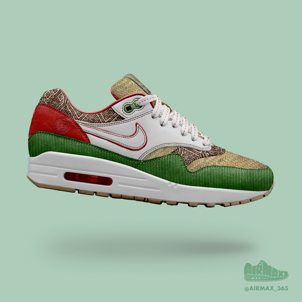 Day 290: Air Max 1 Cinco de Mayo