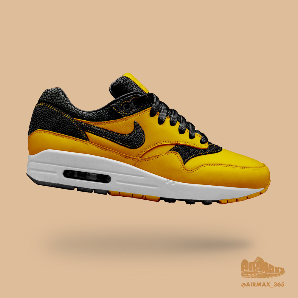 Day 289: Air Max 1 Citron Stingray