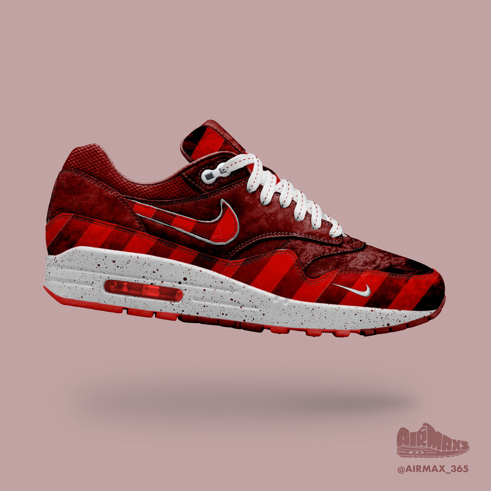 Day 283: Air Max 1 Ruby Red