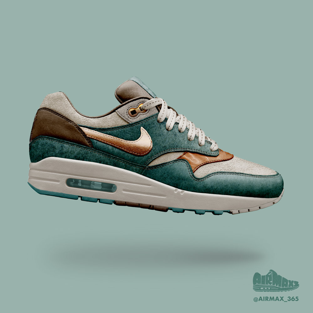 Day 282: Air Max 1 Copper Sea
