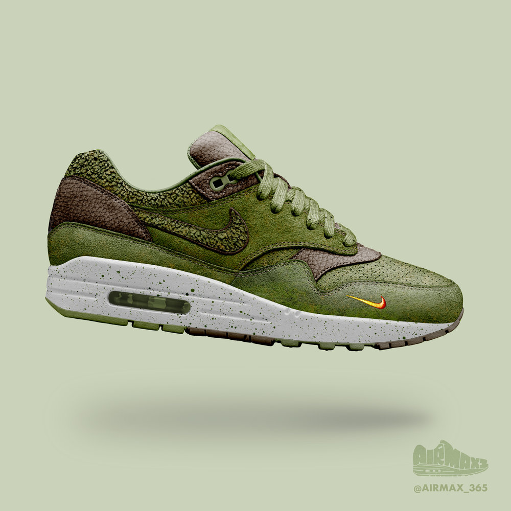 Day 275: Air Max 1 Green Herb