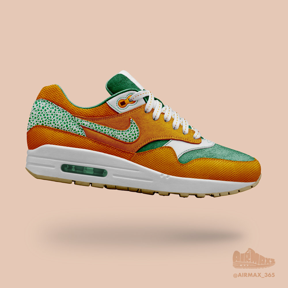 Day 274: Air Max 1 Premium Citrus